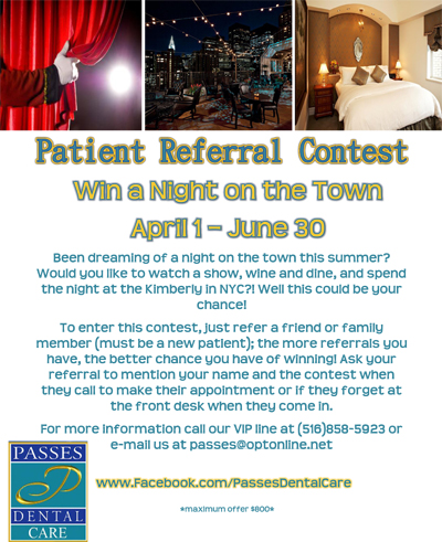Patient Referral Raffle