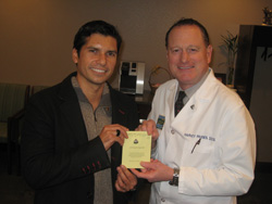 Vadim with Dr. Passes